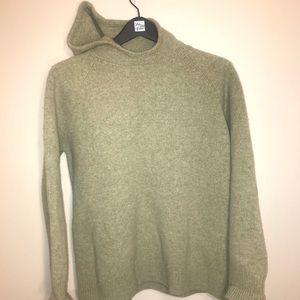 J. Crew 100% wool hoodie